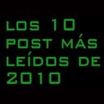 lo mas leído de 2010