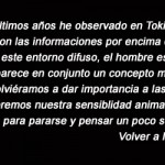 Me gustaría que volviéramos a dar importancia a las cosas - Toyo Ito