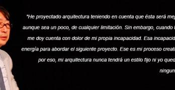 Mi arquitectura nunca tendrá un estilo fijo – Toyo Ito