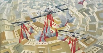Tullio Crali, un futurista sobrevolando la ciudad