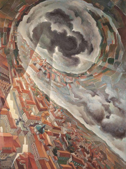 Tullio Crali 1938 Horizontal Spin