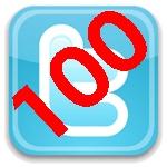 Ya somos 100 en Twitter