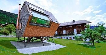 Vivienda vacacional UFOgel diseñada por Peter Jungmann