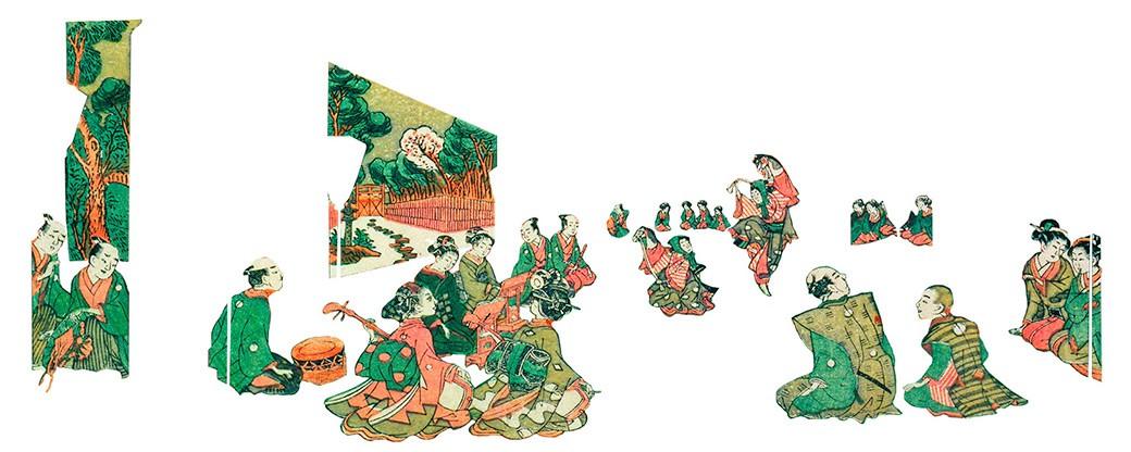 Ukiyo-e cuenta un espacio