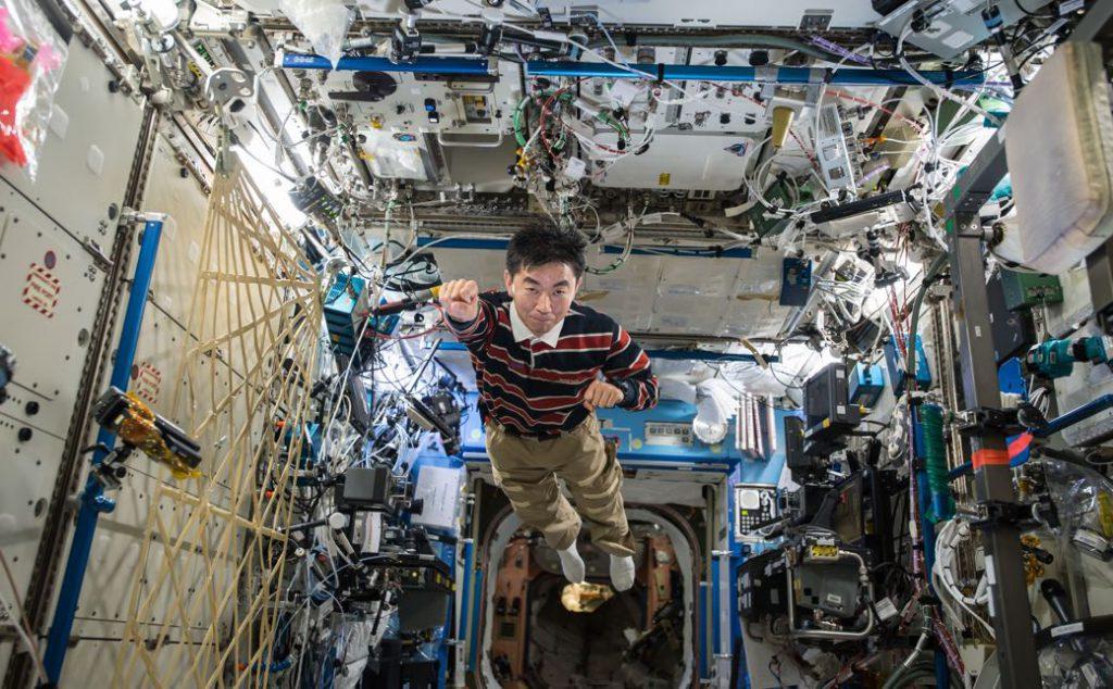 Un paseo por la ISS