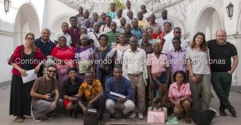 Urbanismo participativo en Inhambane