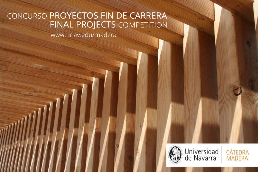 V Concurso Cátedra Madera para estudiantes de PFC/PFG