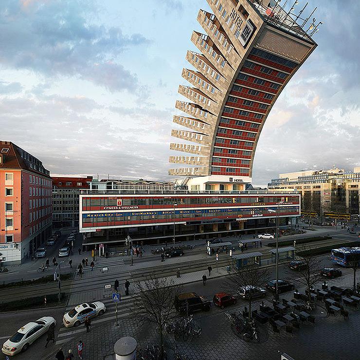 88 Variaciones de un mismo edificio por Víctor Enrich