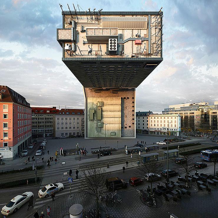 Victor enrich modificaciones edificio NHDK