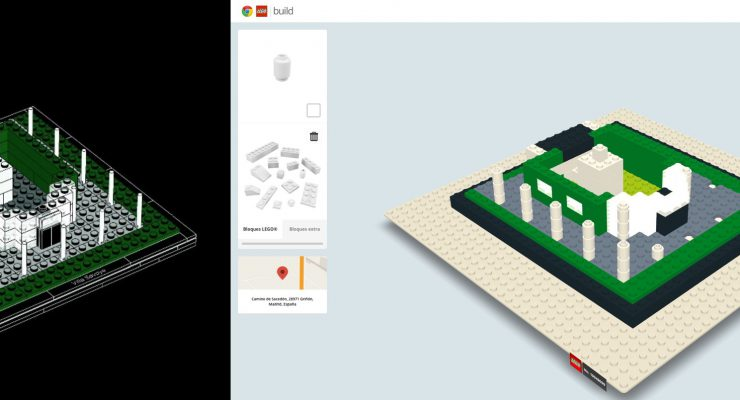 'Construye con Chrome', construcciones de LEGO gratis y online