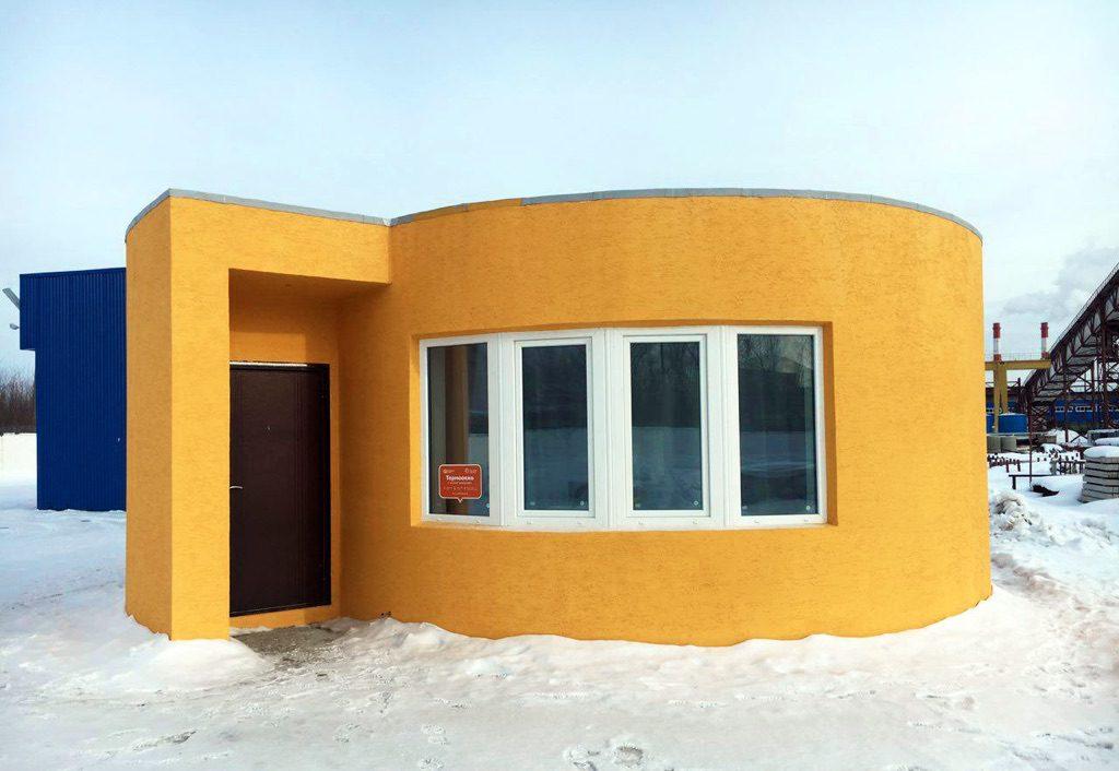 Se construye la primera vivienda impresa en 3D in situ … o no