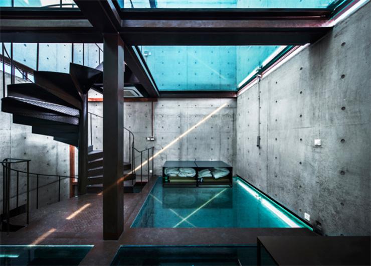 Vivienda vertical de cristal en Shanghai por Atelier FCJZ