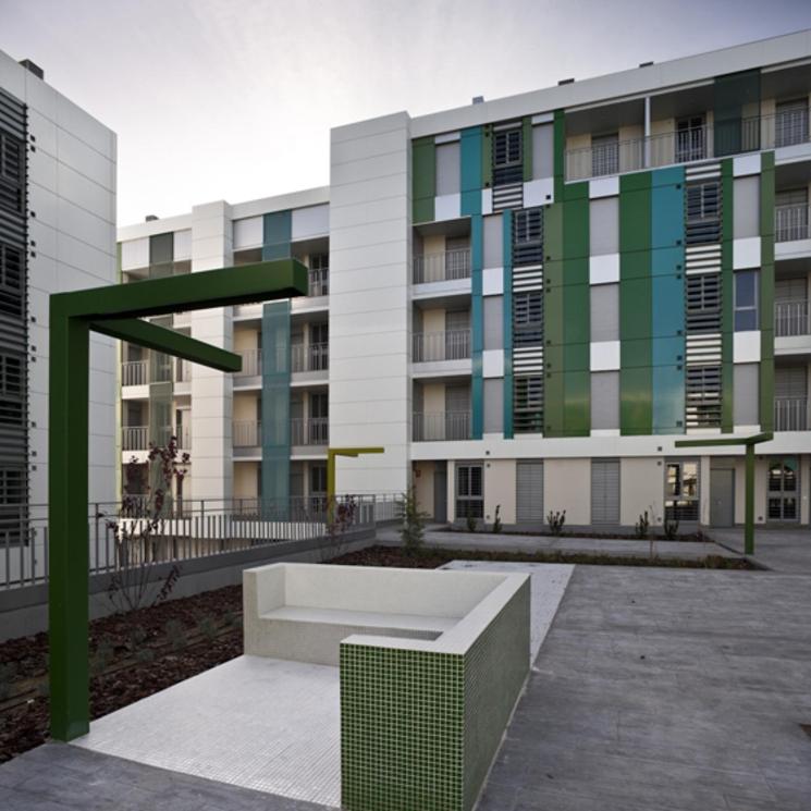 368 Viviendas de Protección Pública (VPPB) por Voluar arquitectura