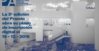 3ª Edición del Premio Europeo de intervención en el patrimonio arquitectónico AADIPA