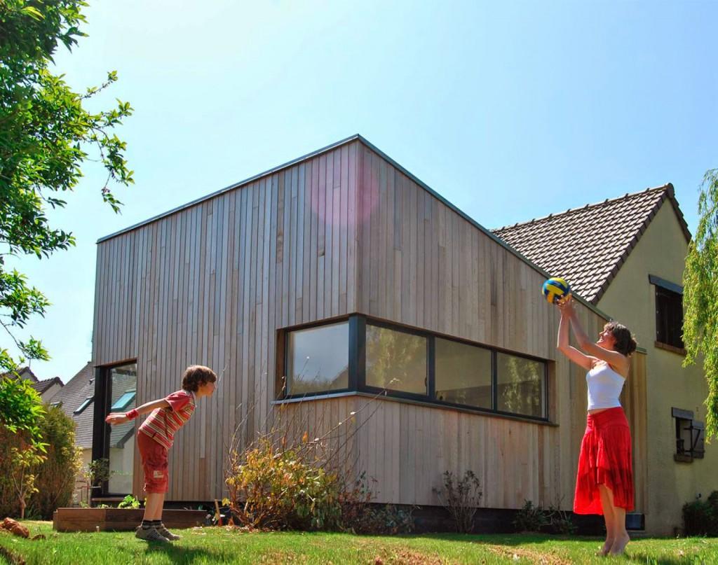 ampliación vivienda madera