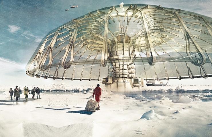 arquitectura festival - morphos - Derek Pirozzi_Umbrella
