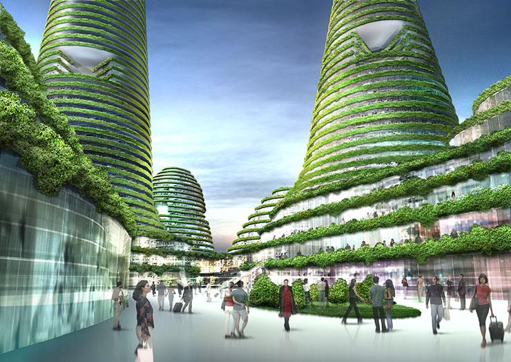 arquitectura festival - morphos - MVRDV_Gwanggyo Power Center