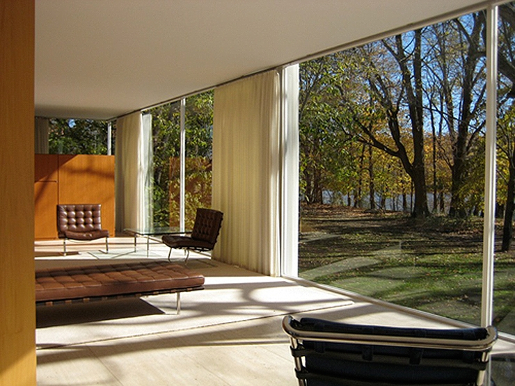 La Casa Farnsworth De Mies Van Der Rohe Un Icono De La Arquitectura Moderna on Greenhouse Interior Design