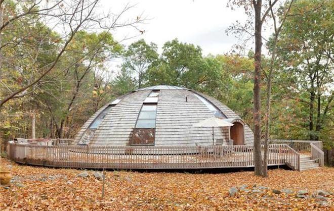 casa prefabricada dome luz solar