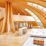 vivienda modular dome luz solar