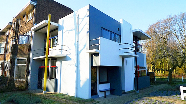 Arquitectura – la casa Schroder de Gerrit Rietveld, un icono del movimiento moderno