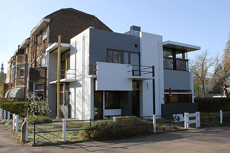 Arquitectura la casa schr der del arquitecto gerrit rietveld - Stijl des maisons ...