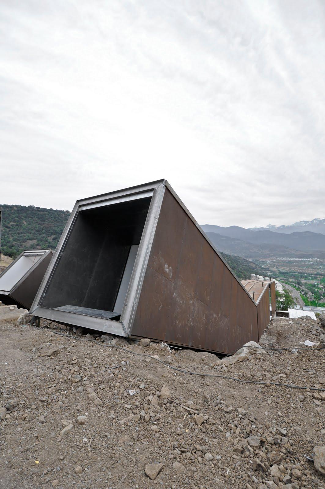 casa oruga contenedor sostenible irarrazabal