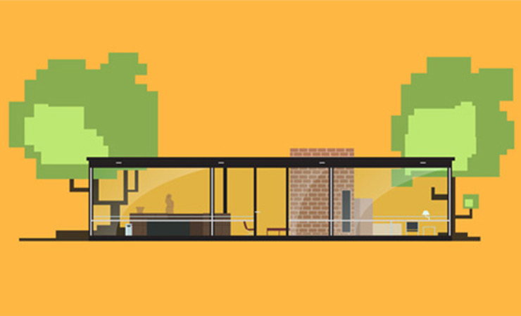 casas viviendas iconicas siglo xx animacion matteo muci