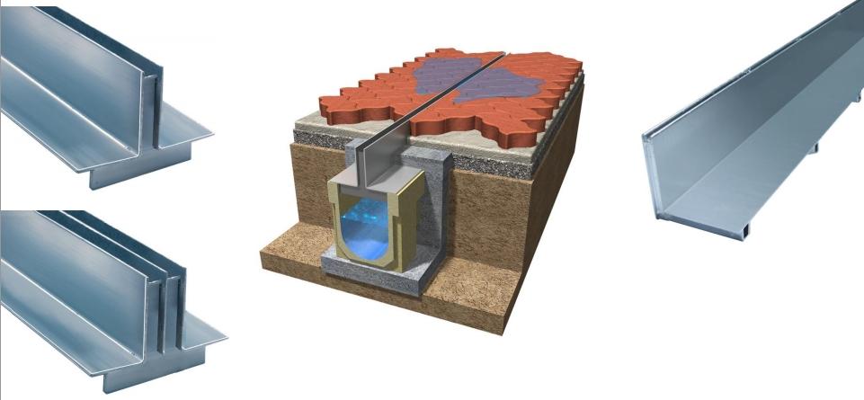 Conoces el canal de drenaje oculto drenaje lineal ulma for Empresas de pavimentos de hormigon