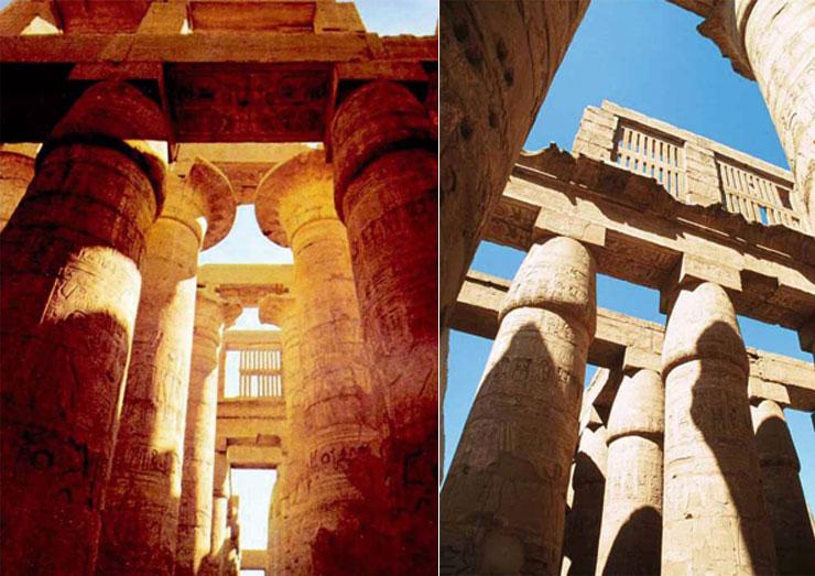celosia ceramica-templo de karnak-ceramica a mano alzada