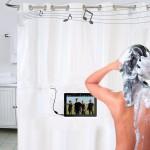 Shower tunes, una cortina de ducha musical