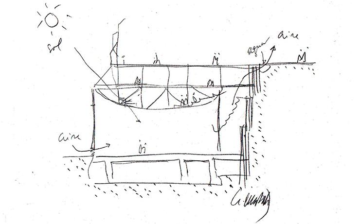 La importancia de el croquis en la arquitectura for Oficina abierta definicion