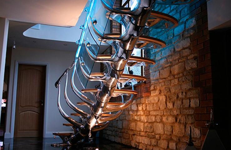 Exclusivos diseños para las escaleras de nuestras viviendas por Philip Watts Design