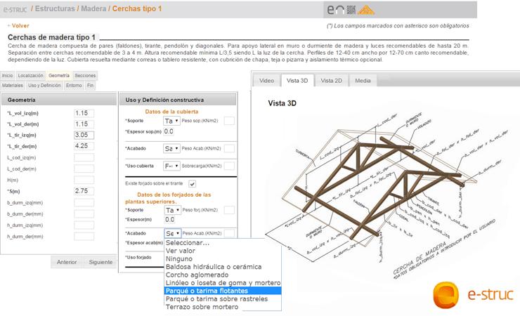 e-struc calculo estructuras online