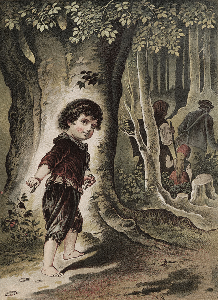 enric-miralles-casa-chocolate-Hansel y Gretel. Hermanos Grimm. Ilustración de Ludwig Richter