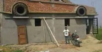 fachada ladrillo tuning coche