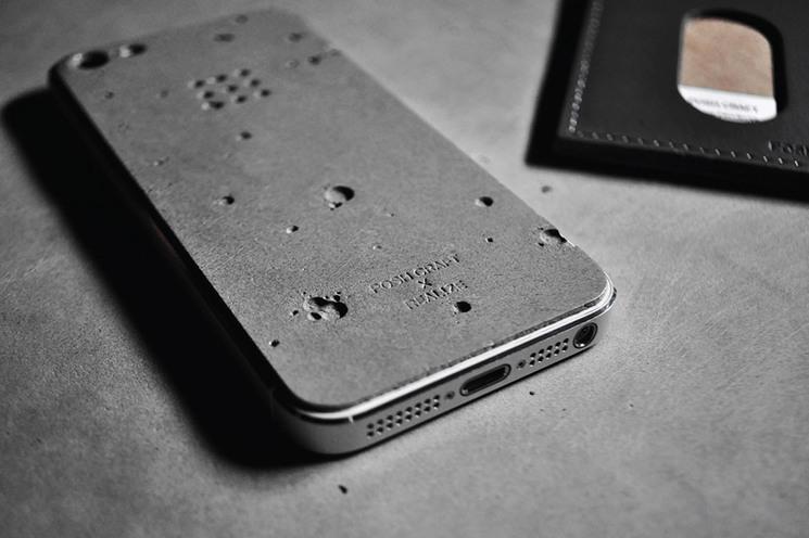 Funda de hormigón para iPhone 5