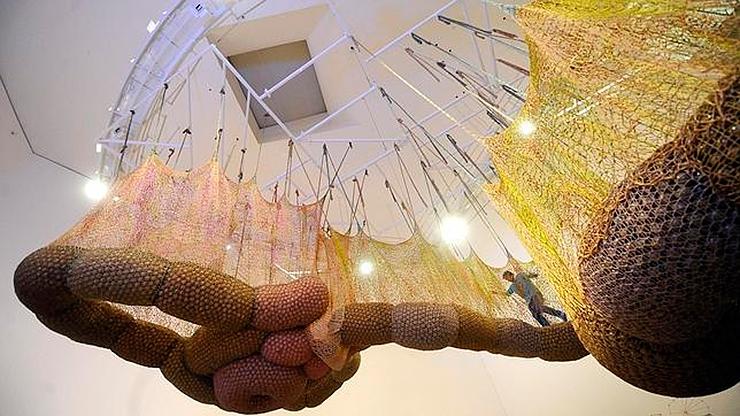 Guggenheim Bilbao – El cuerpo que me lleva, Ernesto Neto
