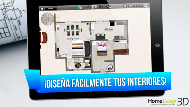 Home design 3d para ipad 3d application