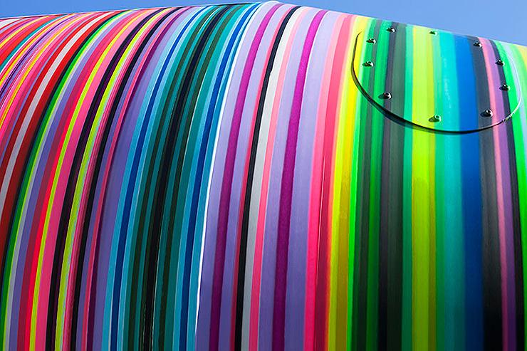 Original camión multicolor por Rub Kandy