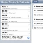 El código técnico de la edificación en tu iPhone