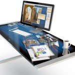 iDesk - Diseño conceptual de Adam Benton para un escritorio multitáctil de Apple