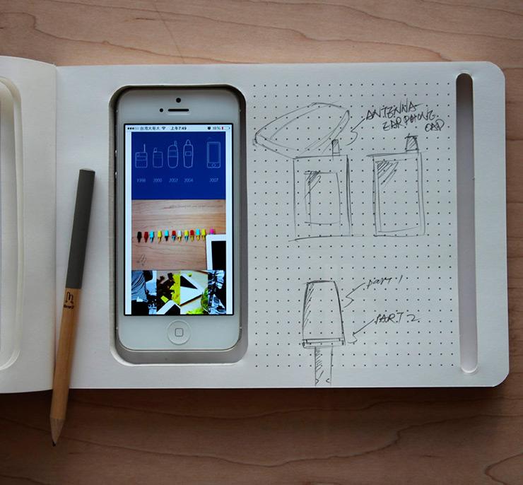 Cuaderno digital y analógico todo-en-uno