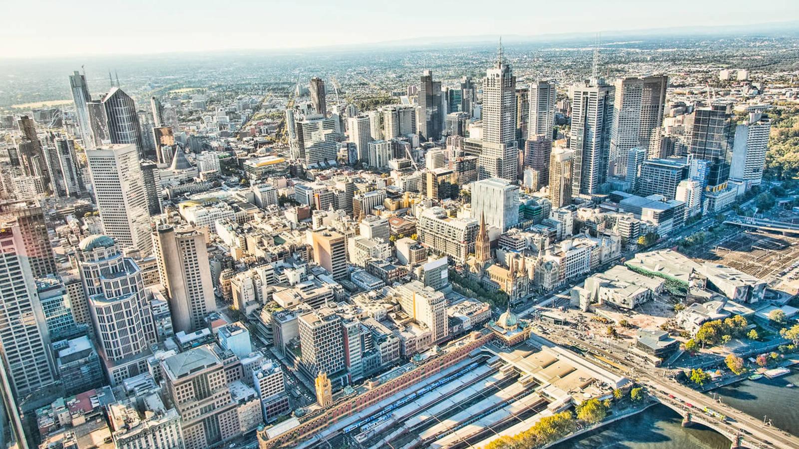 La ciudad burbuja: La ciudad de los 20 minutos