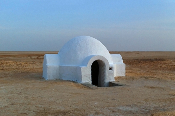 Reformando la casa de Luke Skywalker en Tatooine