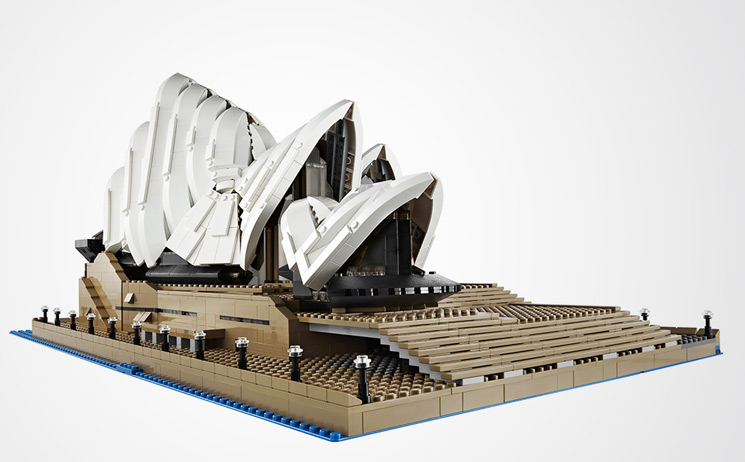 LEGO Architecture presenta LEGO Sydney Opera House