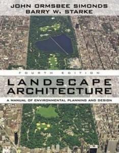 Libro Landscape architecture John O. Simonds