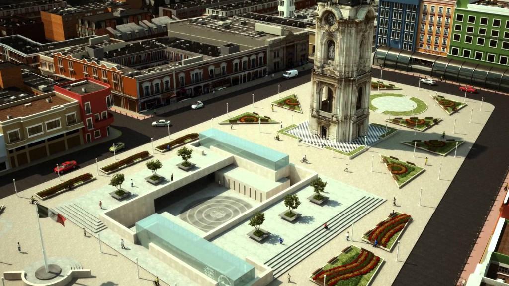 Pachuca, México, arquitectura, urbanismo, Centro Histórico, Centro Cultural El Reloj
