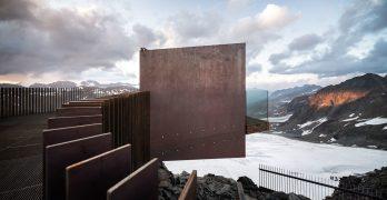 Plataforma panorámica en los Alpes por Noa* network of architecture