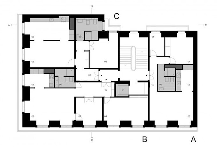 rehabilitación-edificio-apartamentos-planta